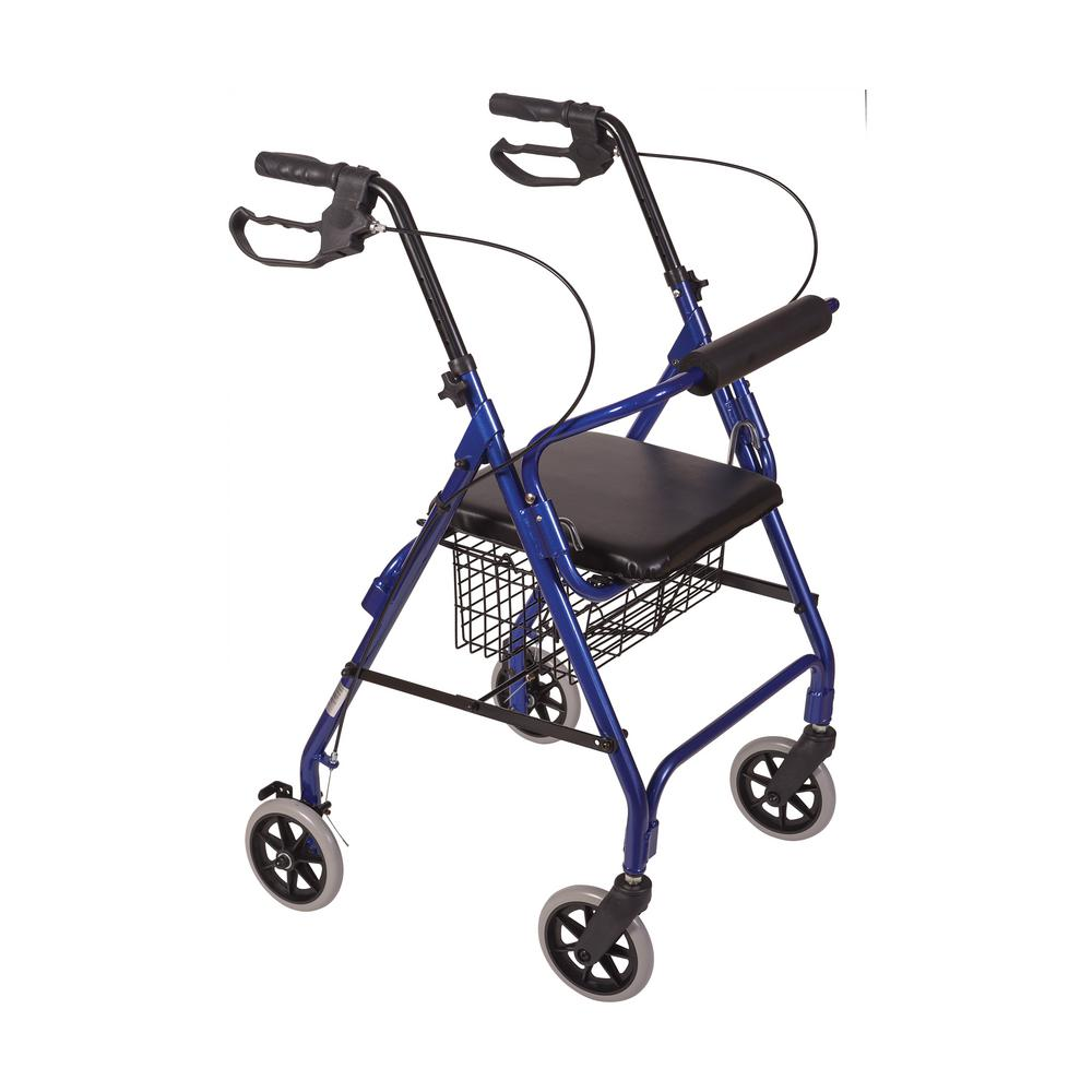 Ultra Lightweight Rollator in Aluminum