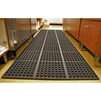 Dura Chef Black 7/8 in. x 38.5 in. x 58.5 in. Anti-Fatigue Mat