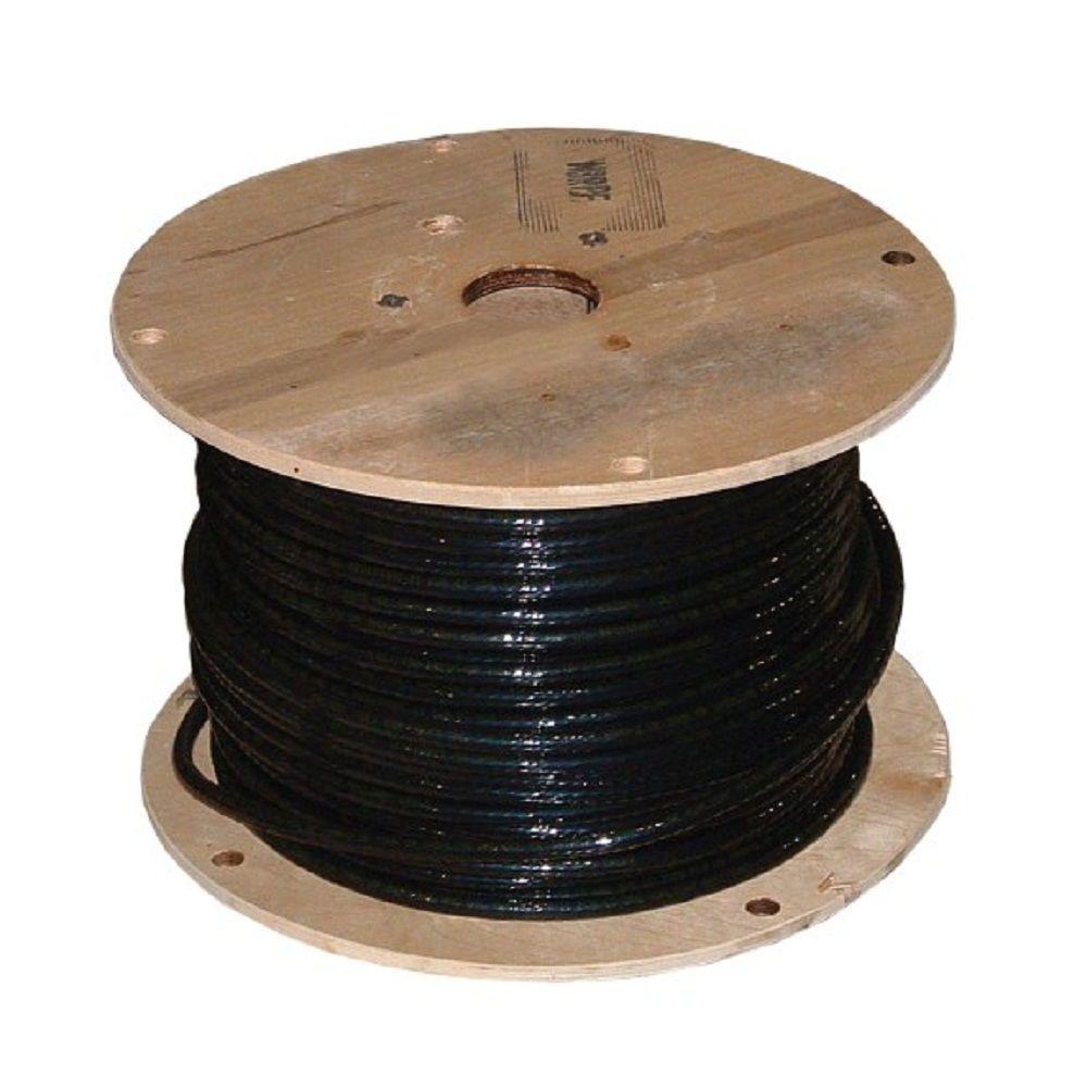 500 ft. 4/0 Black Stranded 3E AL XHHW Wire