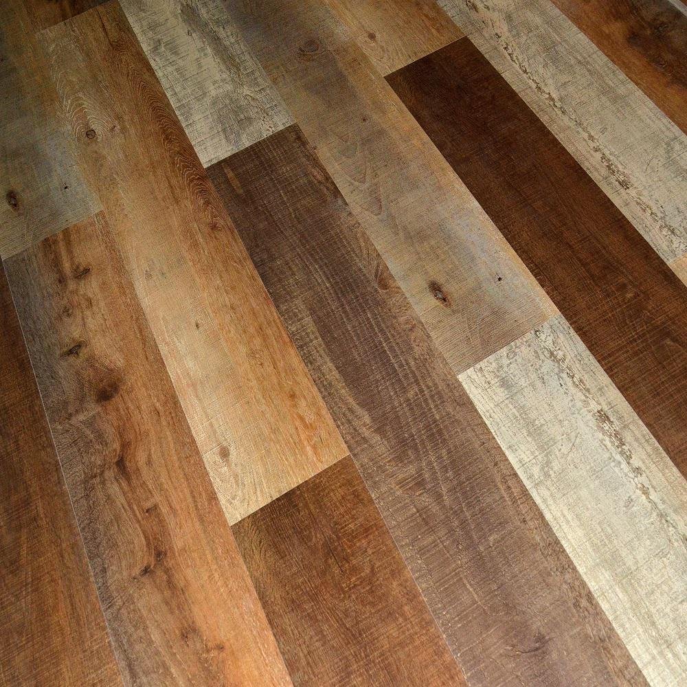 Materials Needed For Laminate Flooring: Dekorman Creek Oak 12 Mm Thick X 7.72 In. Wide X 48 In