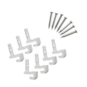Closetmaid Preloaded Back Wall Clips For Wire Shelving 7