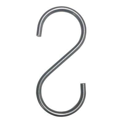 "Pipeline 5 in. L Anthracite Gray ""S"" Hooks"