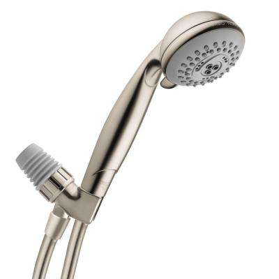Croma E 75 3-Spray Hand Shower with Shower Arm Mount in Brushed Nickel