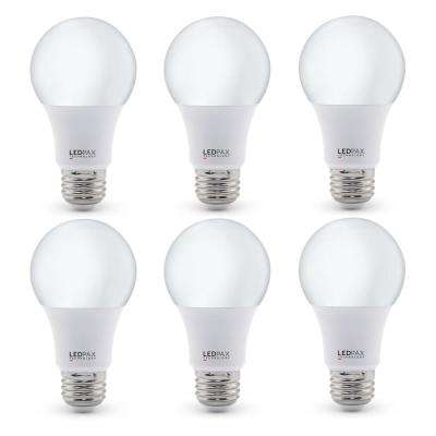 60-Watt Equivalent A19 Dimmable LED Light Bulb (6-Pack)