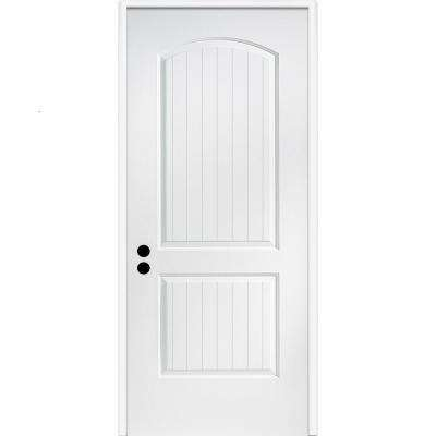 32 in. x 80 in. Cashal Right-Hand Primed Composite 20 Min. Fire-Rated House-to-Garage Single Prehung Interior Door