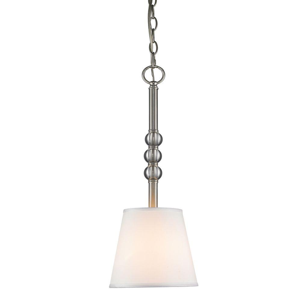 Kiley Collection 1-Light Pewter Mini Pendant