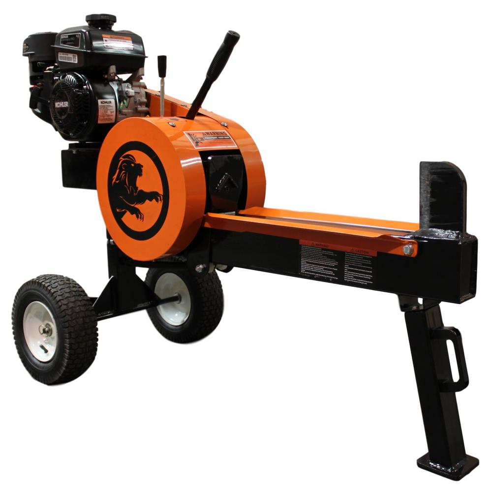 11-Ton 4.5 HP 177 cc Gas Horizontal Kinetic Log Splitter with