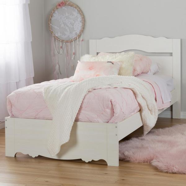 South Shore Lily Rose Twin Kids Platform Bed