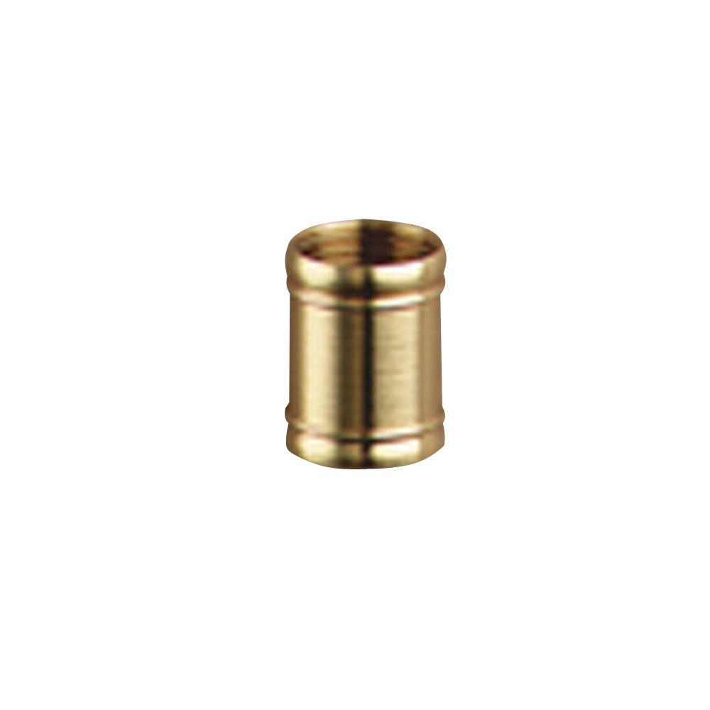 Westinghouse Two 1/8-IP Polished Brass Couplings