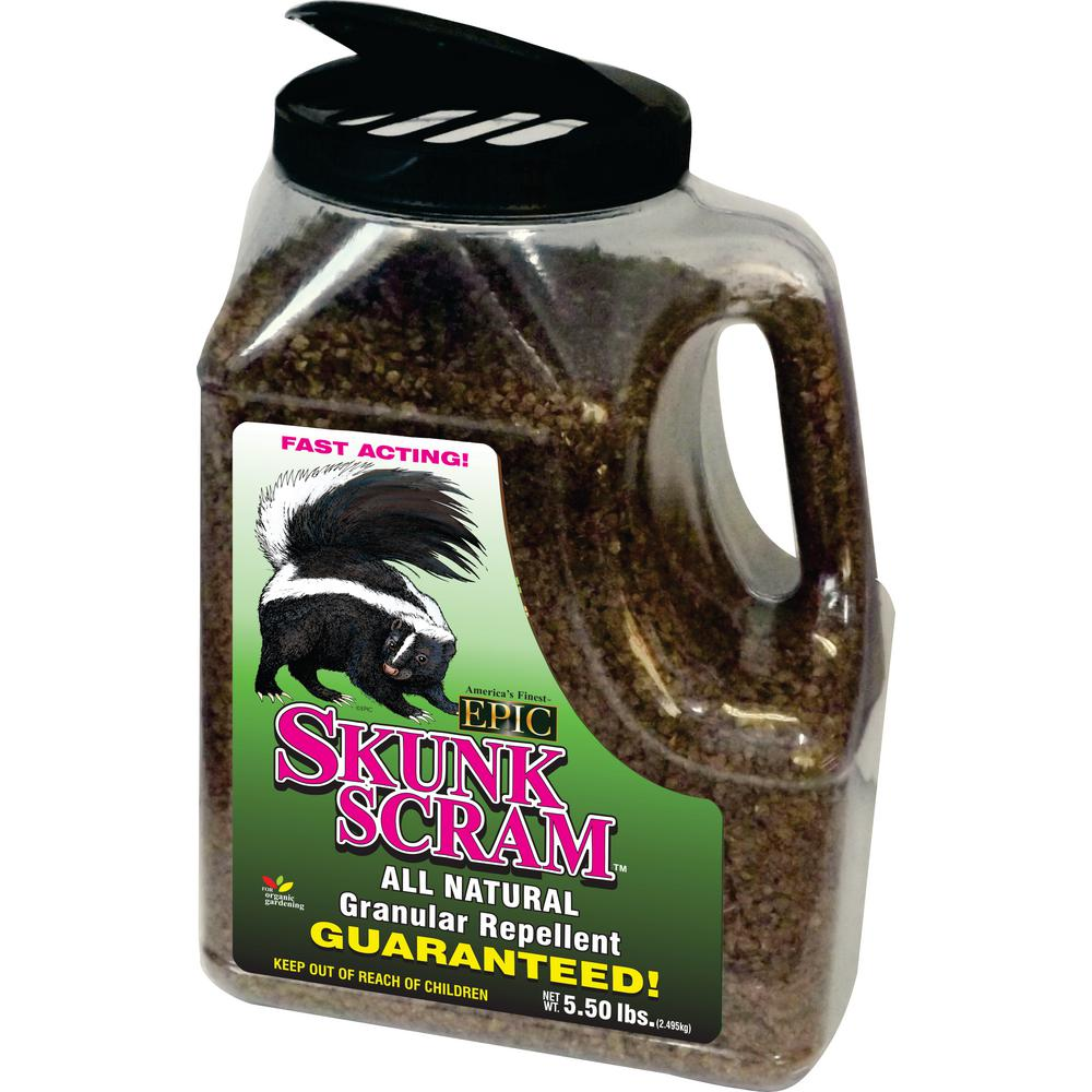 Unbranded Skunk 5 5 Lbs Repellent Granular Shaker Jug 20206 The Home Depot