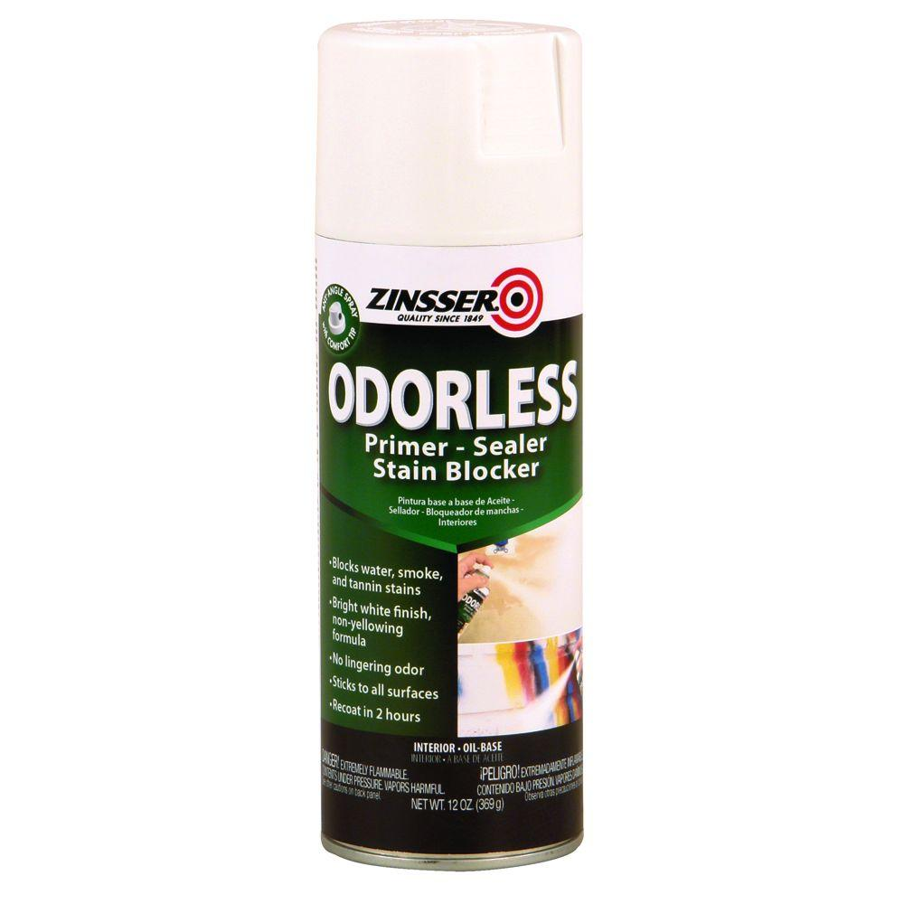 13 oz. Odorless Oil-Based Stain Blocker Interior Primer and Sealer Spray