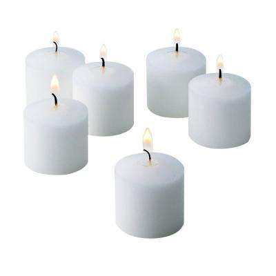 10 Hour Fresh Linen Scented Votive Candles (Set of 12)
