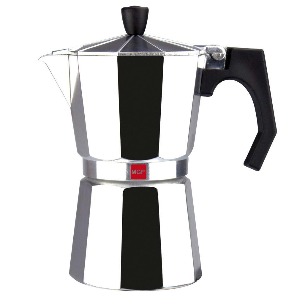 Magefesa Kenia 3-Cups Aluminum (Silver) Expresso Coffee M...