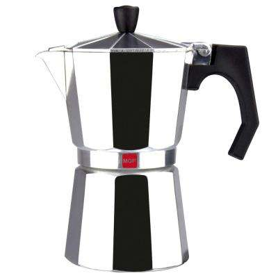 Kenia 3-Cups Aluminum Expresso Coffee Maker