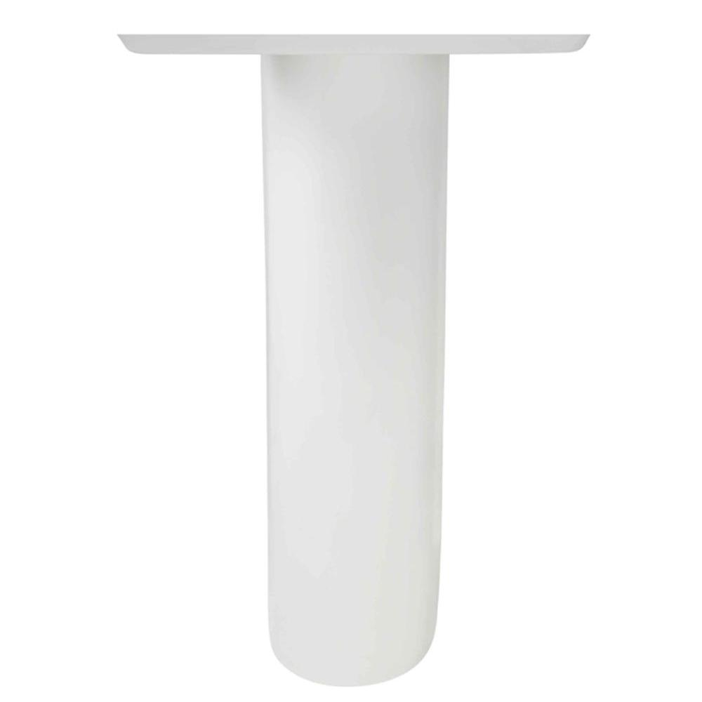 Boulevard Tropic Vitreous China Pedestal Leg In White