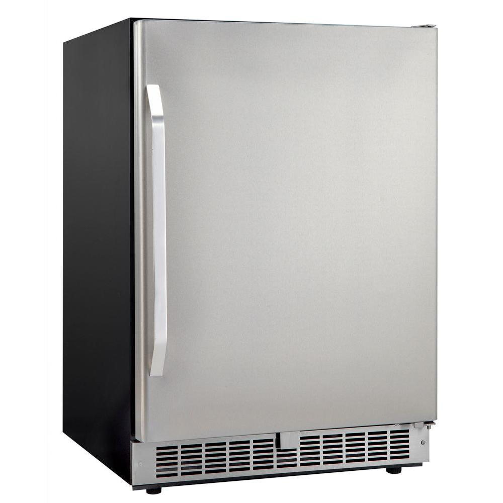 Danby Silhouette Select 5.4 cu. ft. 24 in. Mini Refrigerator in Stainless Steel