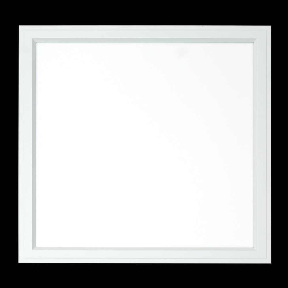 AcculightUSA 2ft. x 2 ft. 30-Watt White Integrated LED Flat Multi Panel Flush Mount