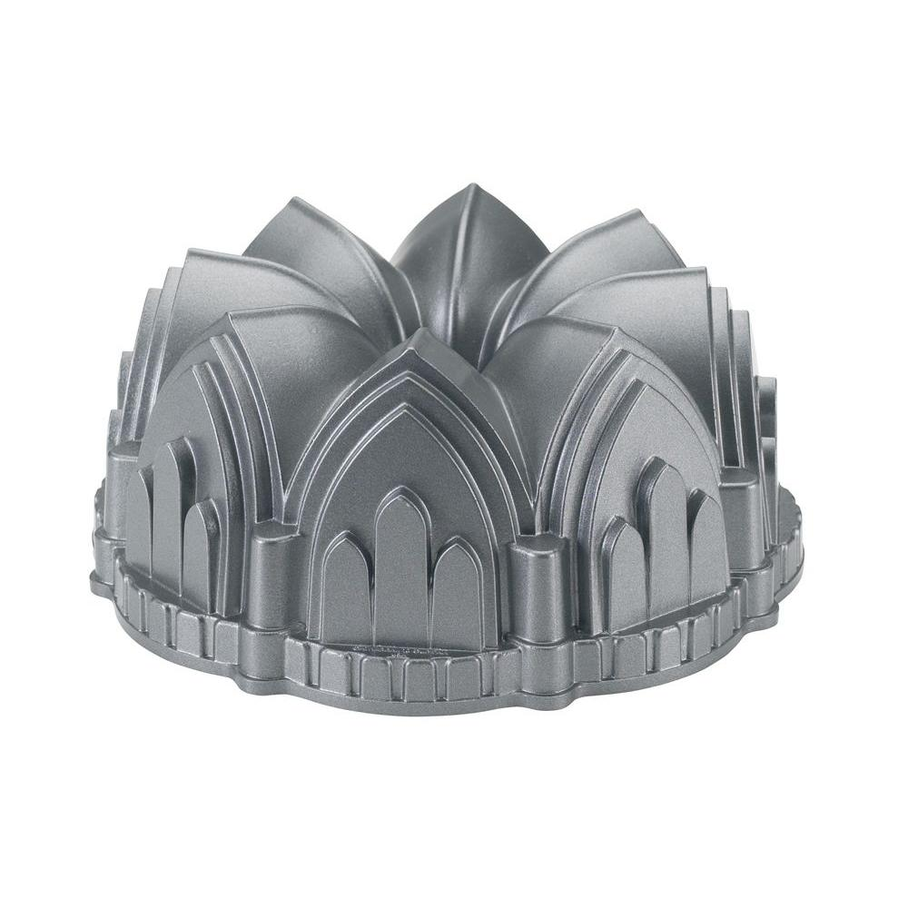 Nordic Ware Platinum Collection 9-1/4 in. Cathedral Bundt Pan