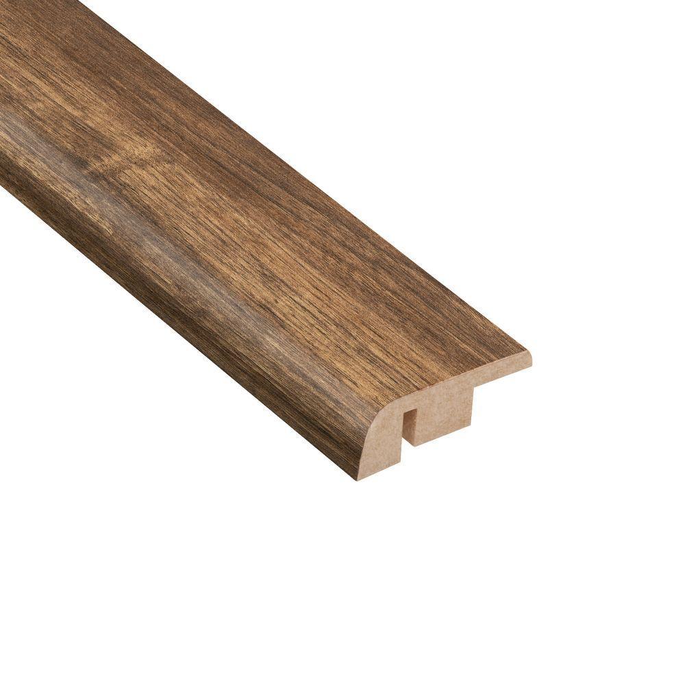Los Feliz Walnut 1/2 in. Thick x 1-1/4 in. Wide x 94 in. Length Laminate Carpet Reducer Molding