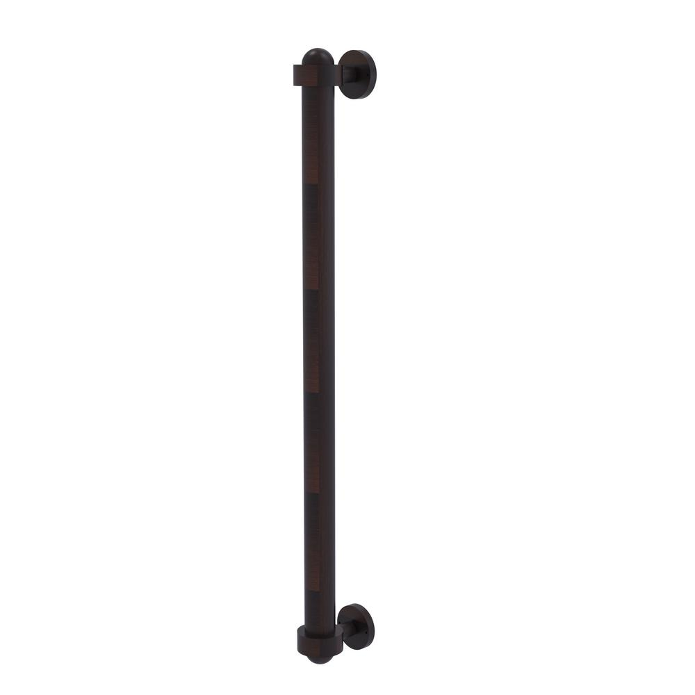 Allied Brass 18 in. Center-to-Center Refrigerator Pull in Venetian Bronze Transform your kitchen with this elegant Refrigerator and Appliance Pull. This pull is designed for replacing the pulls or handles on your built-in refrigerator, freezer or any other built in appliance. Appliance pull is made of solid brass and provided with a lifetime finish to insure products will provide a lifetime of service.