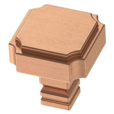 28mm Brushed Copper Square Cabinet