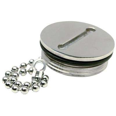 Replacement Cap For Deck Fill 32251, 32261, 32271 or 32281, Stainless Steel