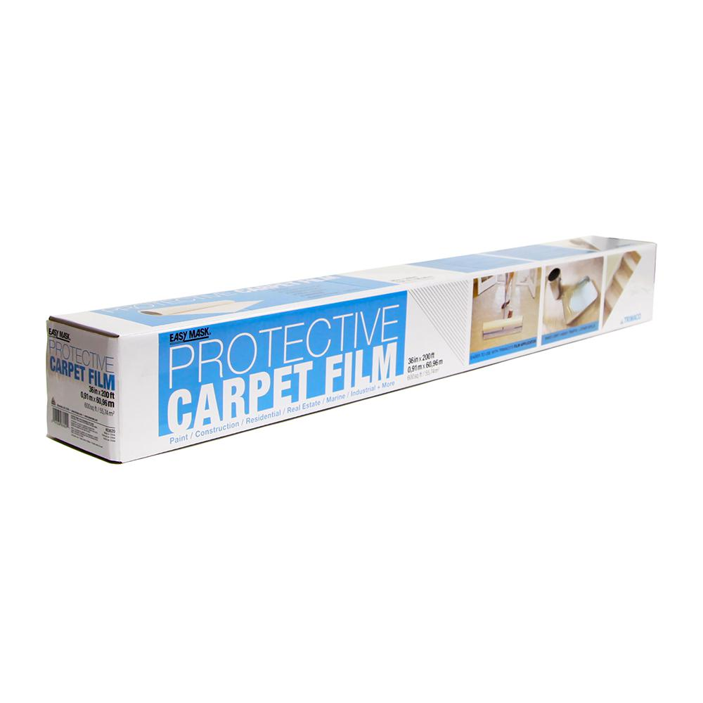 TRIMACO 36 in. x 200 ft. 2 mil Indoor Carpet Protection Film