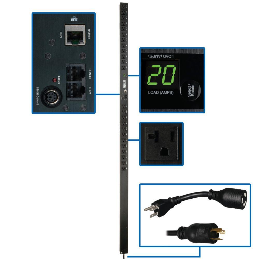 PDU Switched 120-Volt / 20-Amp 5-15/20R 24-Outlet L5-20P Vertical 0URM