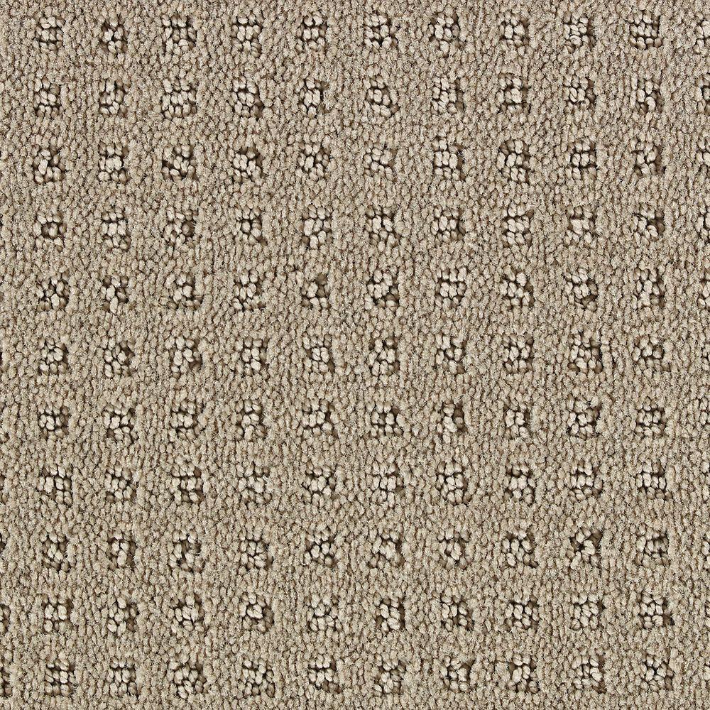 Martha Stewart Living Springwood Natural Twine - 6 in. x 9 in. Take Home Carpet Sample
