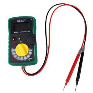 Stupendous Commercial Electric Digital Battery Tester Ms603 The Home Depot Wiring Digital Resources Cettecompassionincorg