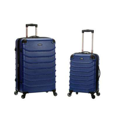 Rockland Expandable Speciale 2-Piece Hardside Spinner Luggage Set, Blue