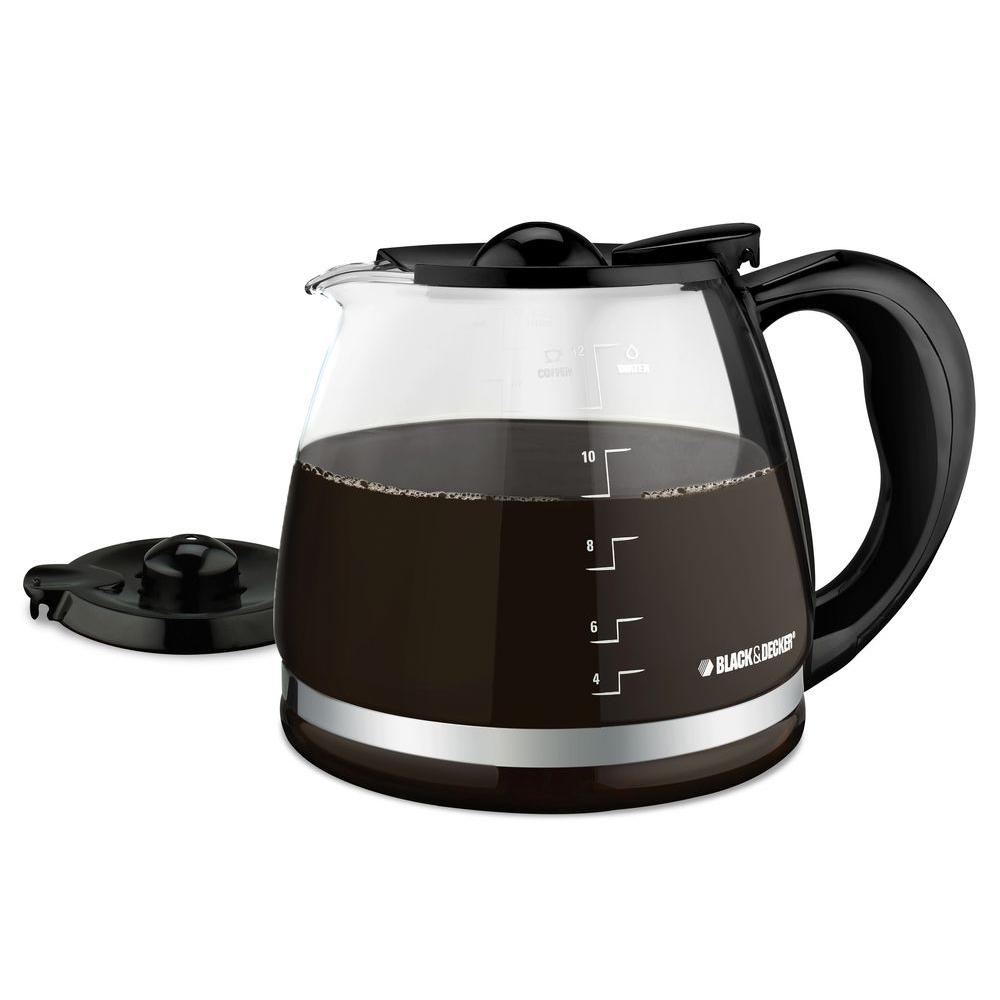 Black and decker coffee maker 12 cup programmable - Black Decker Replacement Carafe