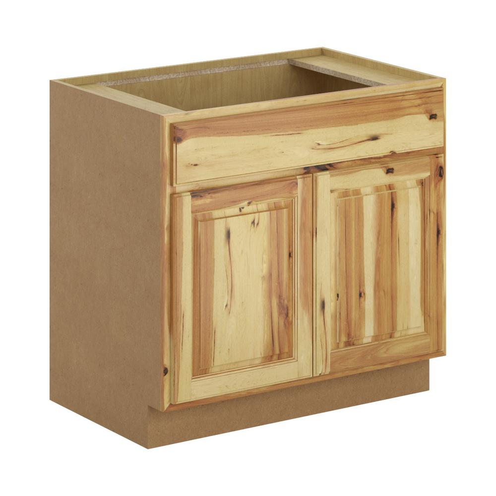 Madison Embled 36x34 5x21 In Base Bathroom Vanity Cabinet Hickory