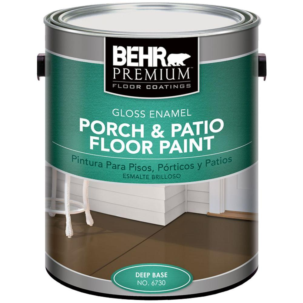 BEHR Premium 1 gal. Deep Base Gloss Enamel Exterior Porch and Patio Floor Paint