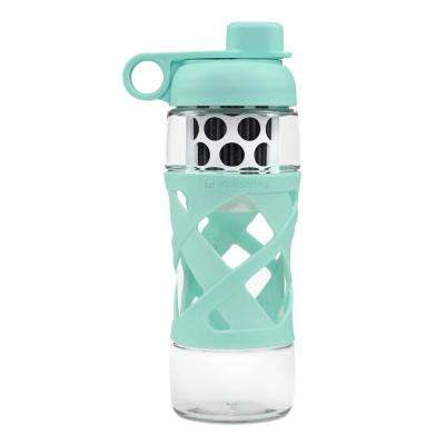 22 oz. Water Bottle with Built in Filter System in Glacier Blue