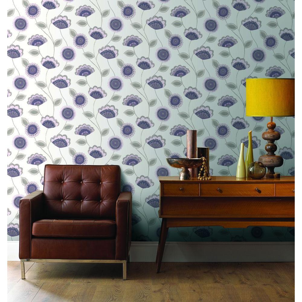 Romany Lavender Wallpaper