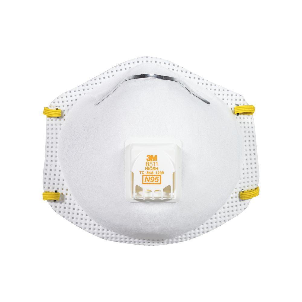 Sanding and Fiberglass Valved Respirator (15-Pack)