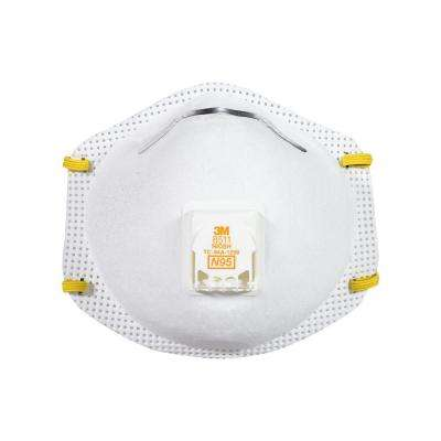 Sanding and Fiberglass Valved Respirator (15-Pack) (Case of 4)