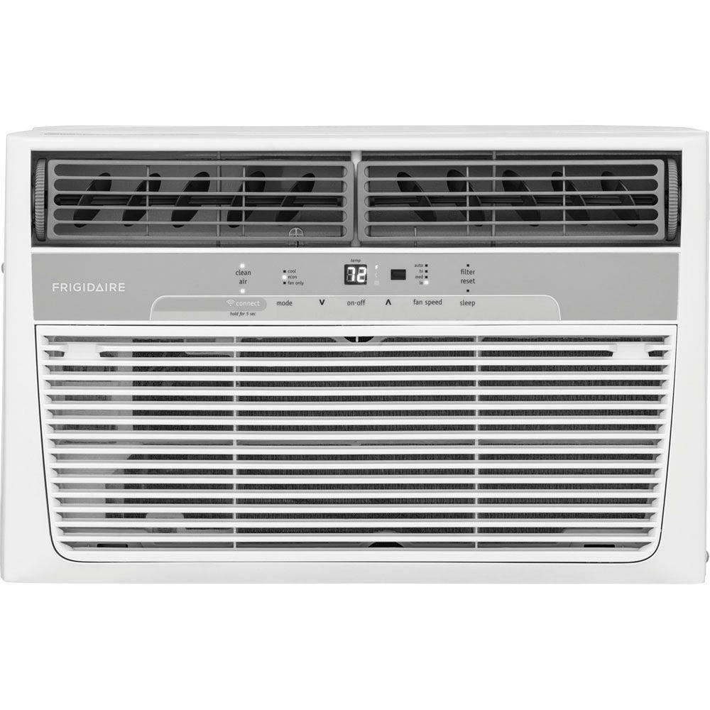 Frigidaire Cool Connect 8,000 BTU 115-Volt Window-Mounted Air Conditioner