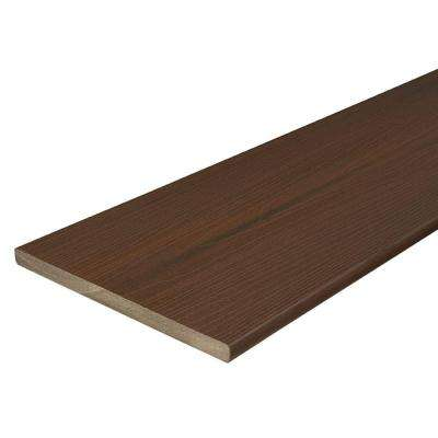 ProTect Advantage 3/4 in. x 11-1/4 in. x 12 ft. Chestnut Capped Composite Fascia Decking Board