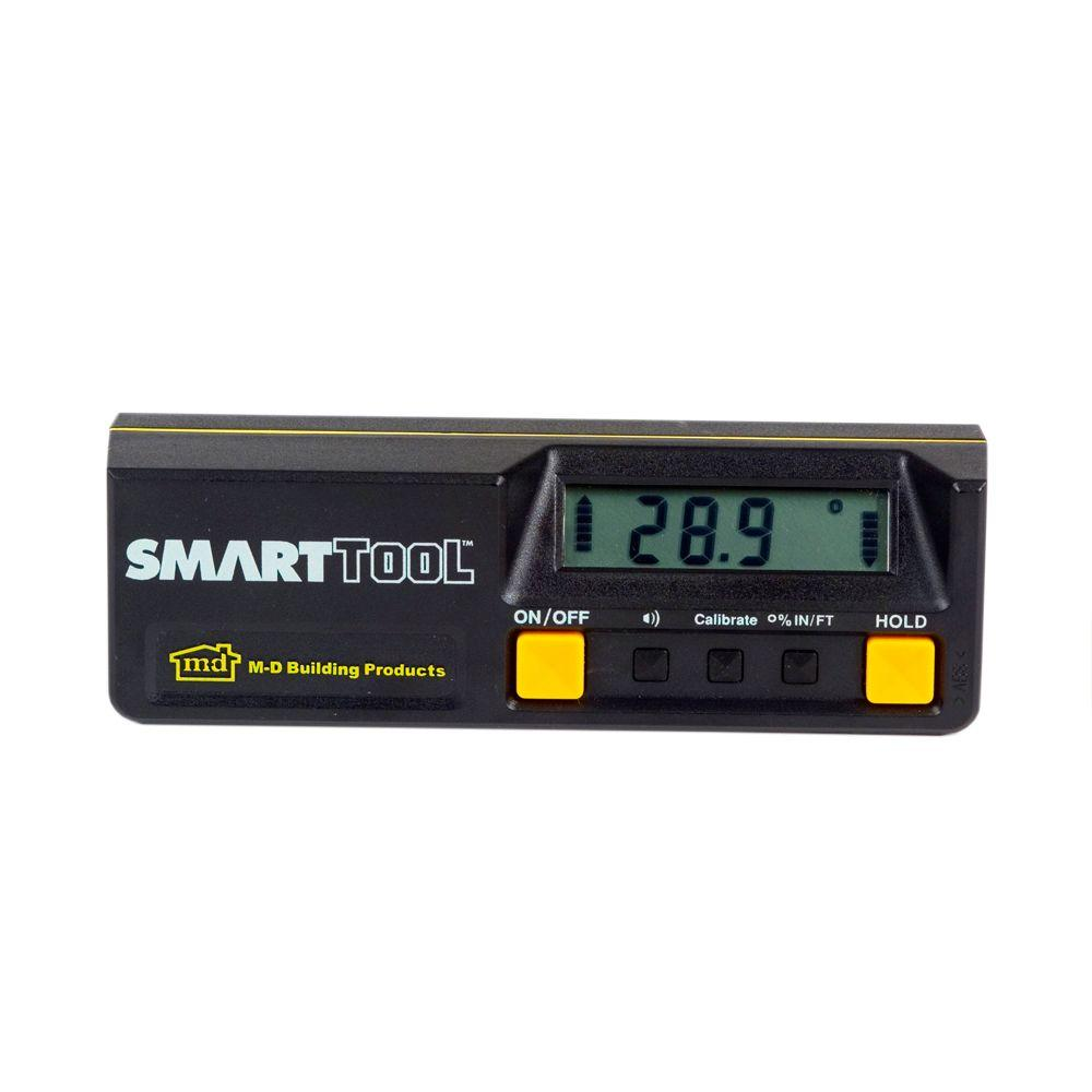 M-D Building Products SmartTool 8.60 in. Angle Sensor Level