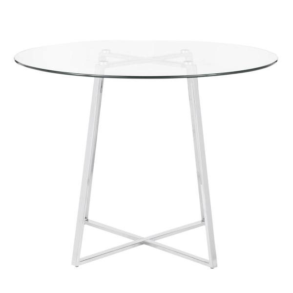 Lumisource Cosmo Round Dining Table In