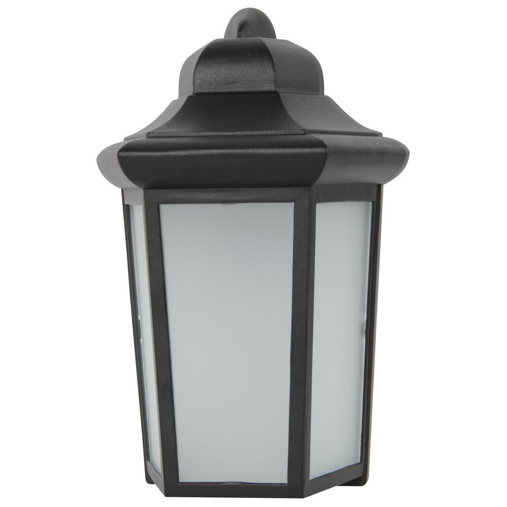 Luminance Adl Lumin Black Outdoor Led Wall Lantern