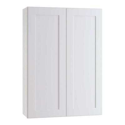 Newport Assembled 33 x 42 x 12 in. Plywood Shaker Wall Kitchen Cabinet Soft Close in Painted Pacific White