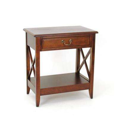 Brown Eiffel Night Stand