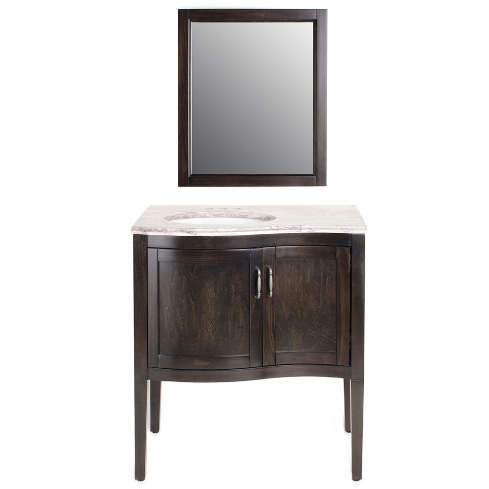 Home Decorators Collection Customer Service: Florence 30 In. Vanity In Charcoal With Stone