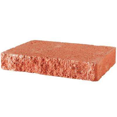 2 in. x 12 in. x 8 in. Terra Cotta Concrete Retaining Wall Cap (120-Piece/119 sq. ft./Pallet)