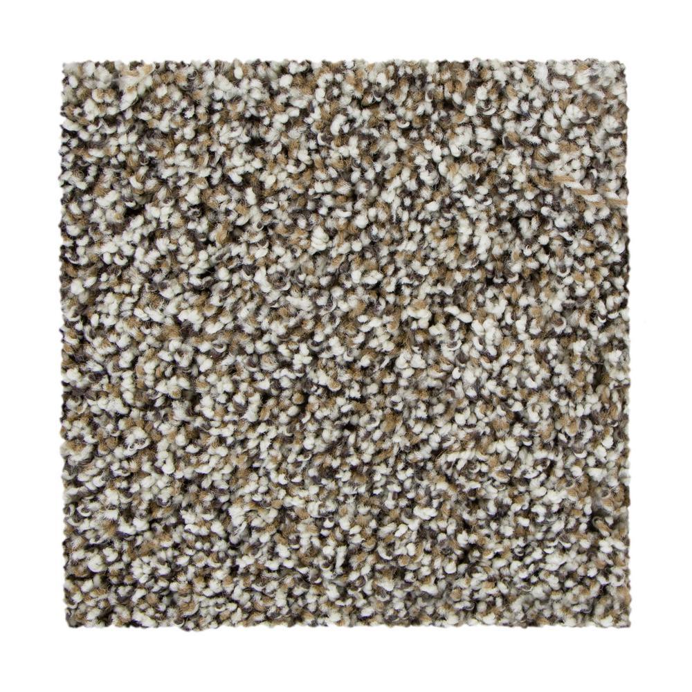 March Point - Color Monarch Bone Texture 12 ft. Carpet