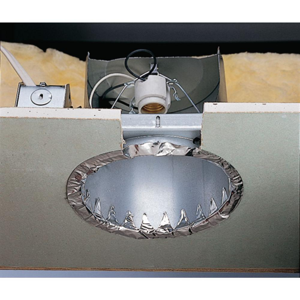 Progress Lighting 6 In Metallic New Construction Recessed Housing Air Ic And Non