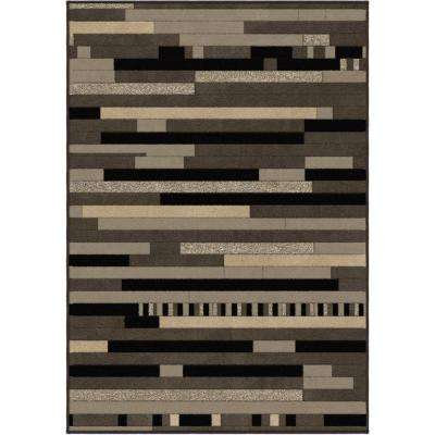 Reardon Gray 7 ft. 10 in. x 10 ft. 10 in. Indoor Area Rug